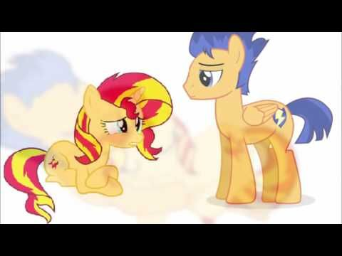 Fluttershy and Sunset Shimmer FTTA by SaraoooFluttershy on DeviantArt