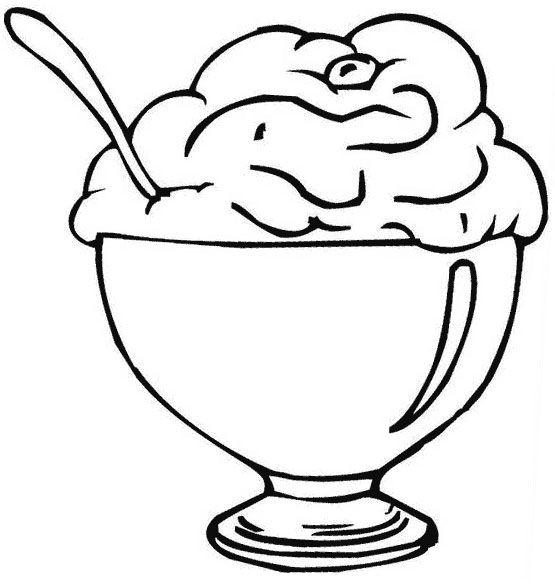 Ice Cream Coloring Pages For Free Download Procoloring