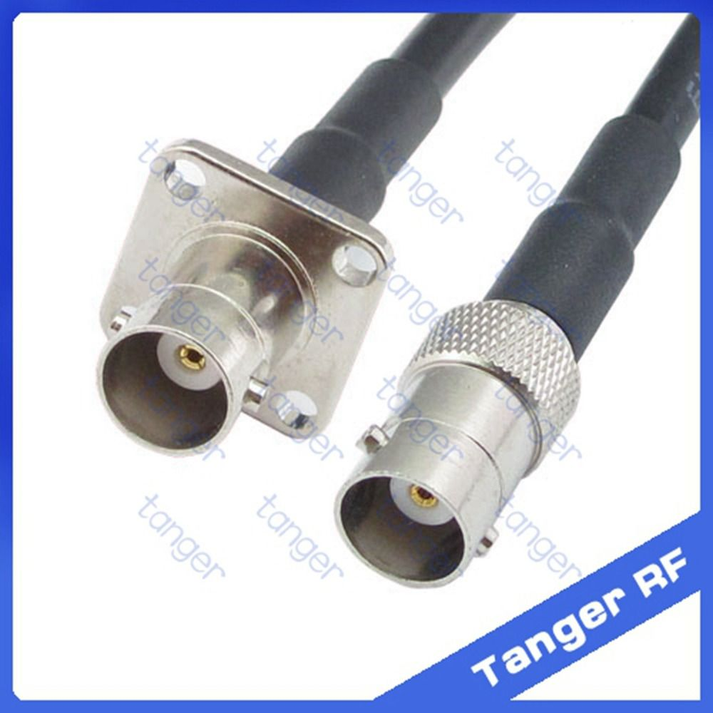 1x PL259 SMA Female to UHF Male RF Straight Pigtail Jumper RG58 Coax 50cm SS