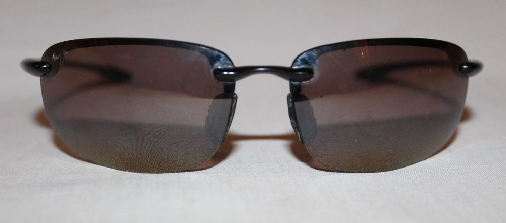 cdcc76c4f9 Maui Jim Sunglasses Ho okipa Black Frame Bronze Lenses MJ Sport Polarized
