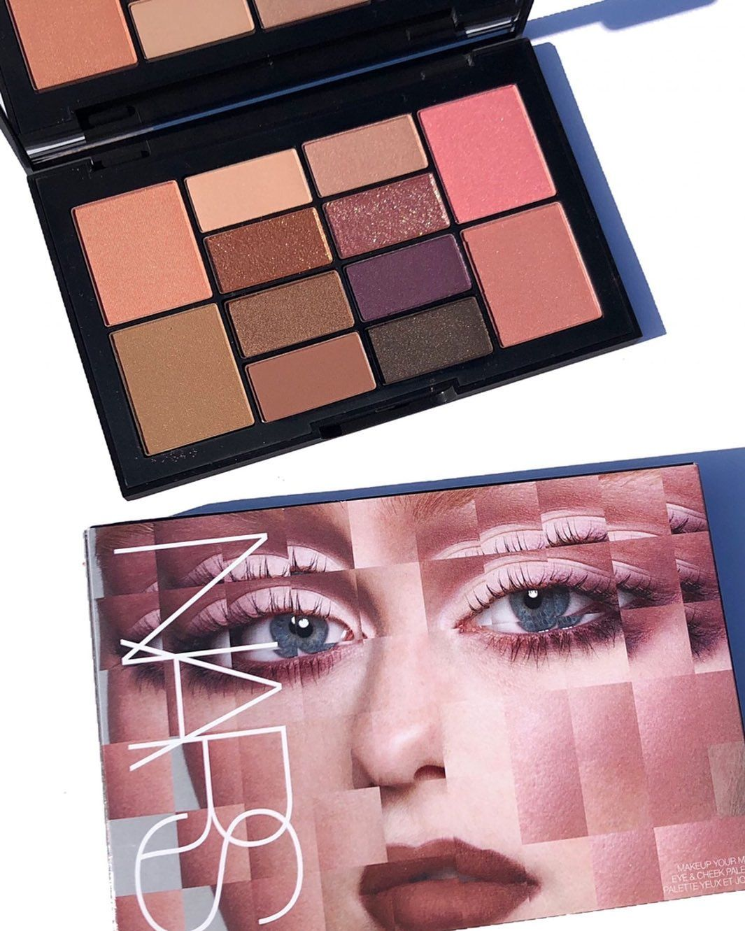 ( LIMITED 2019 ) NARS makeup your mind eye & cheek palette