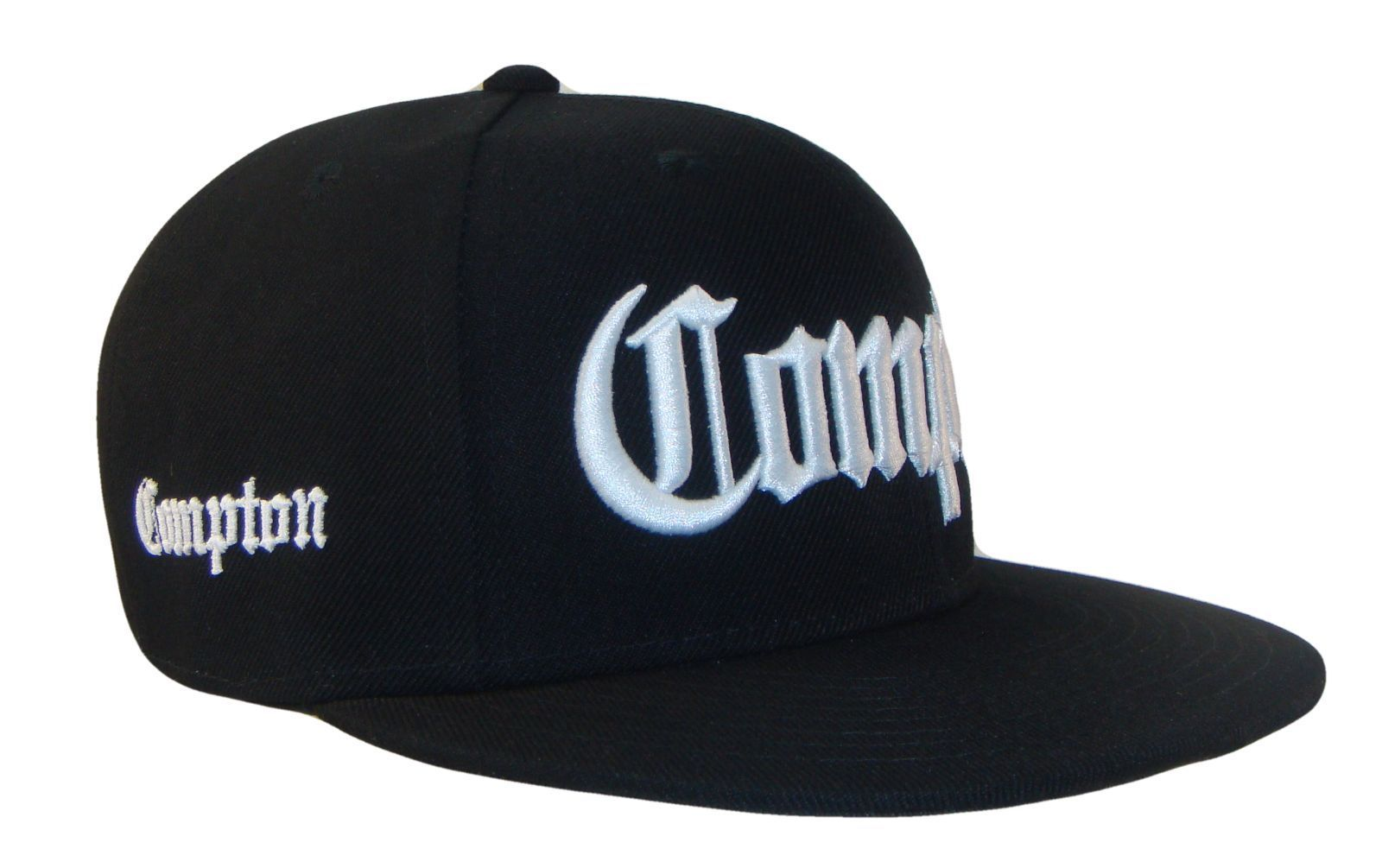 new Compton men/&women Snapback sport Baseball Cap Vintage Black NWA letter