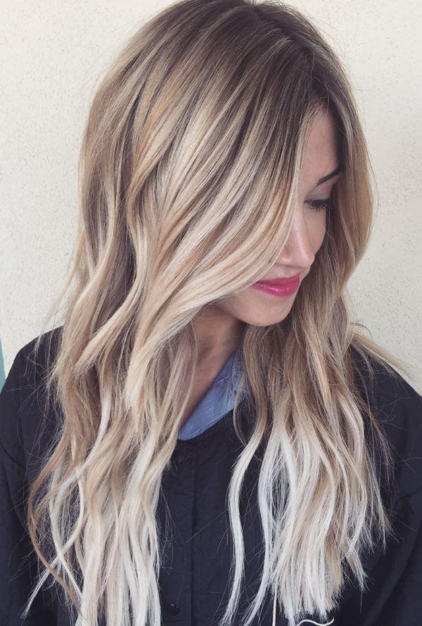 Product Hair Length 22 Inch Hair Color Light Brown Balayage