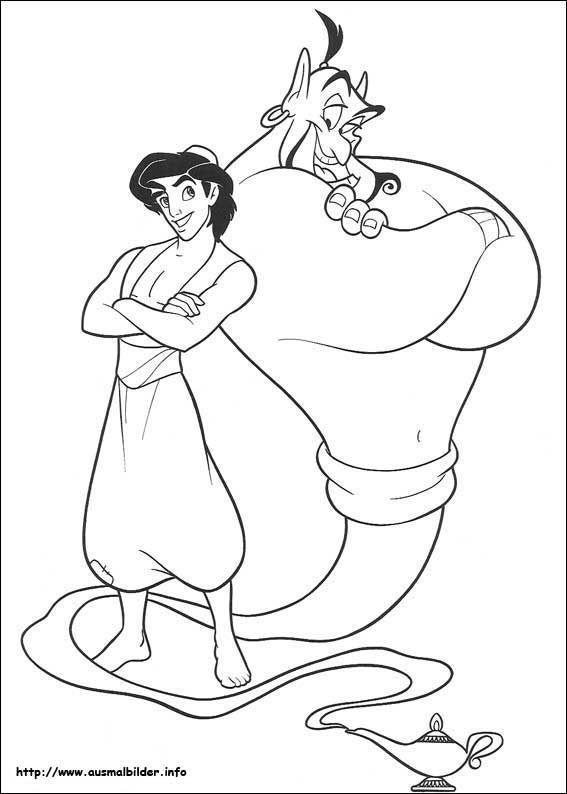 Ausmalbilder Aladin Ausmalbilder Für Kinder Unbedingt Kaufen