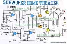 subwoofer home theater power amplifier circuits pinterest subwoofer circuit diagram datasheet subwoofer home theater power amplifier circuit diagram