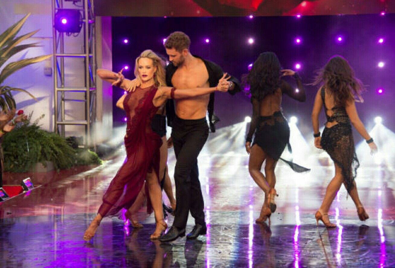 Nick and Peta DWTS Finale