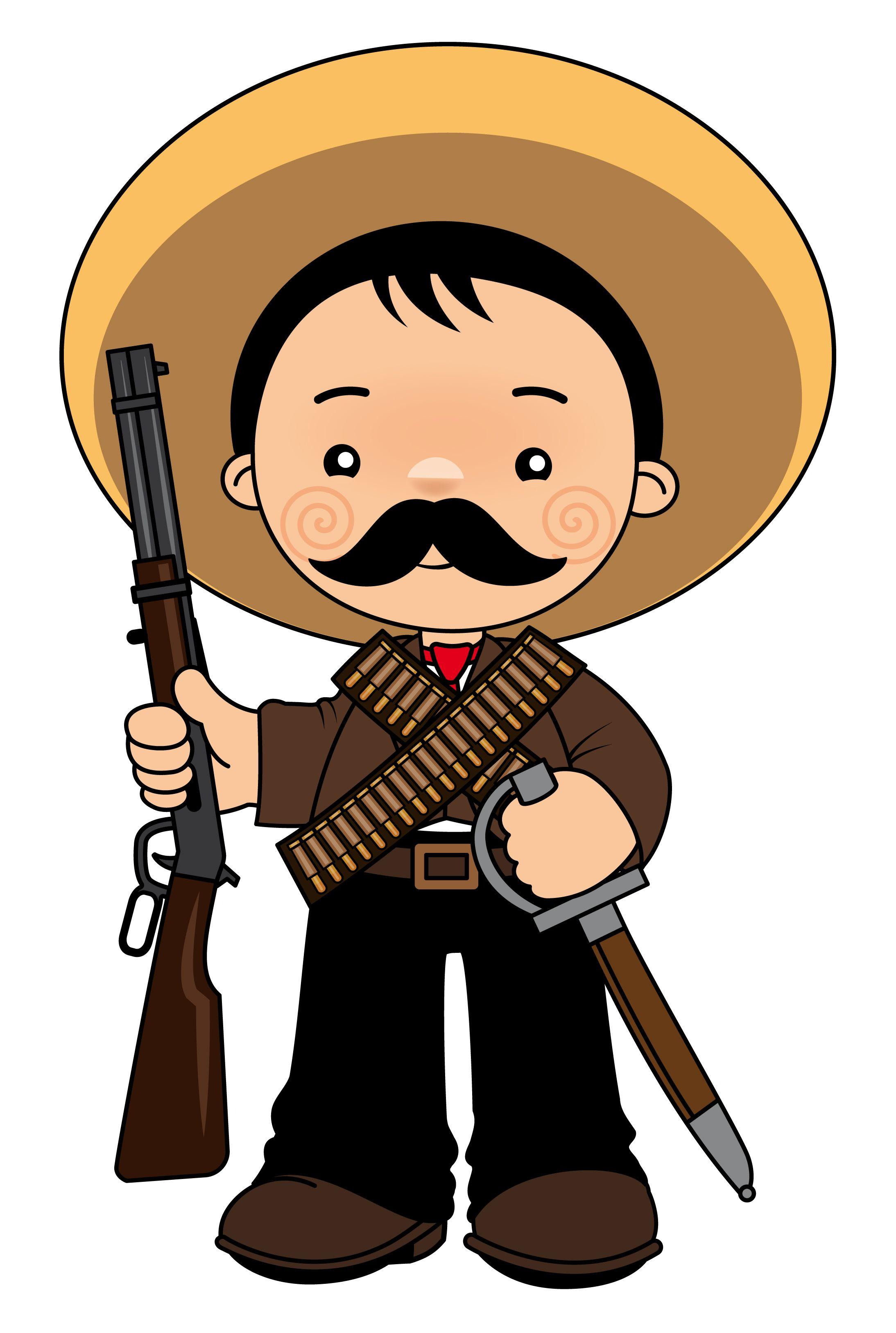 Emiliano Zapata | Revolucion mexicana para niños ...
