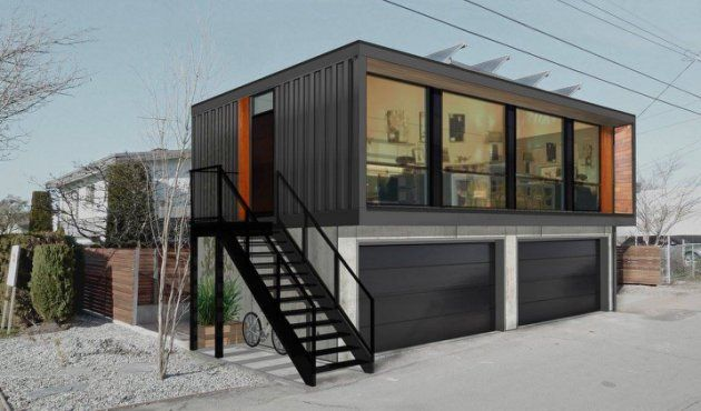 Shipping container homes find new space in Edmonton