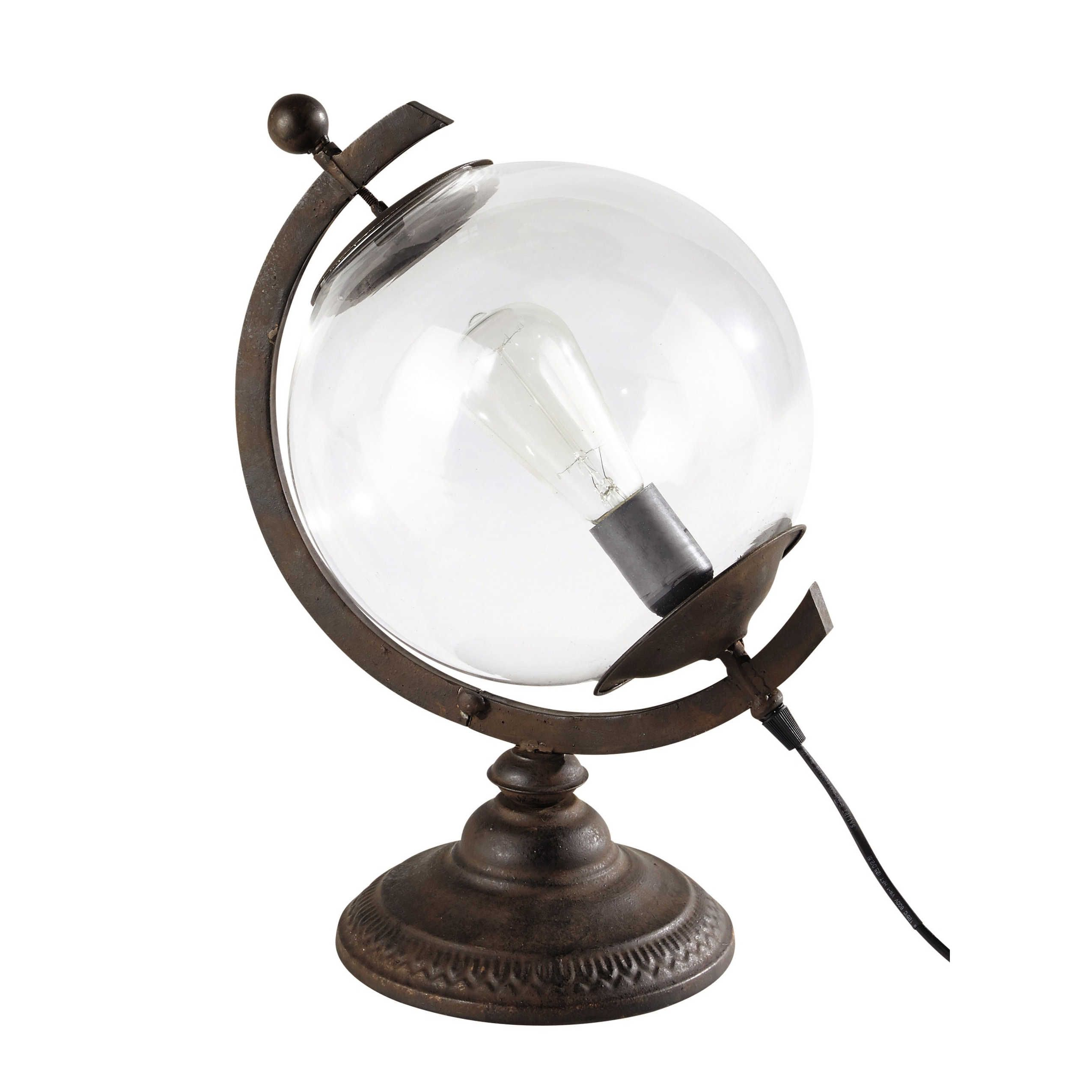 luminaires id es pour asni res lampe globe globe en verre und mobilier de salon. Black Bedroom Furniture Sets. Home Design Ideas