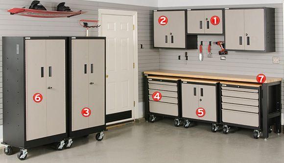 10 Best images about Garage Storage on Pinterest Workbenches Garage and  Garage cabinets  10 Best. Husky Garage Storage Systems