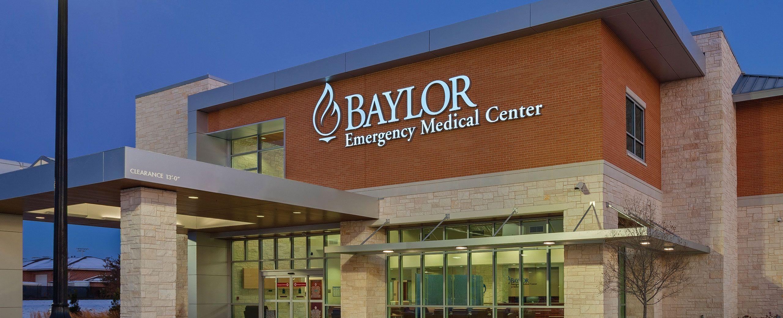 Baylor emergency medical center locations medical center