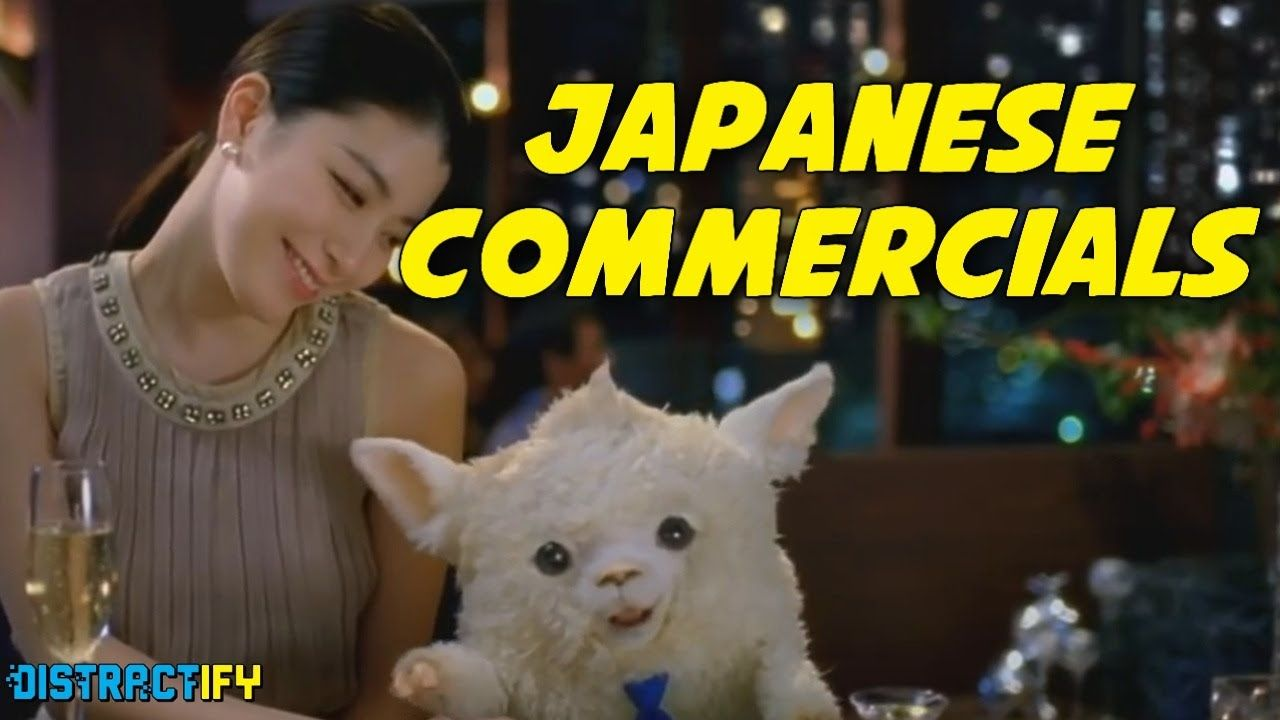 A Compilation of Weird Japanese Commercials, Part Three