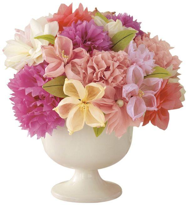 martha stewart paper wedding flowers ф pinterest