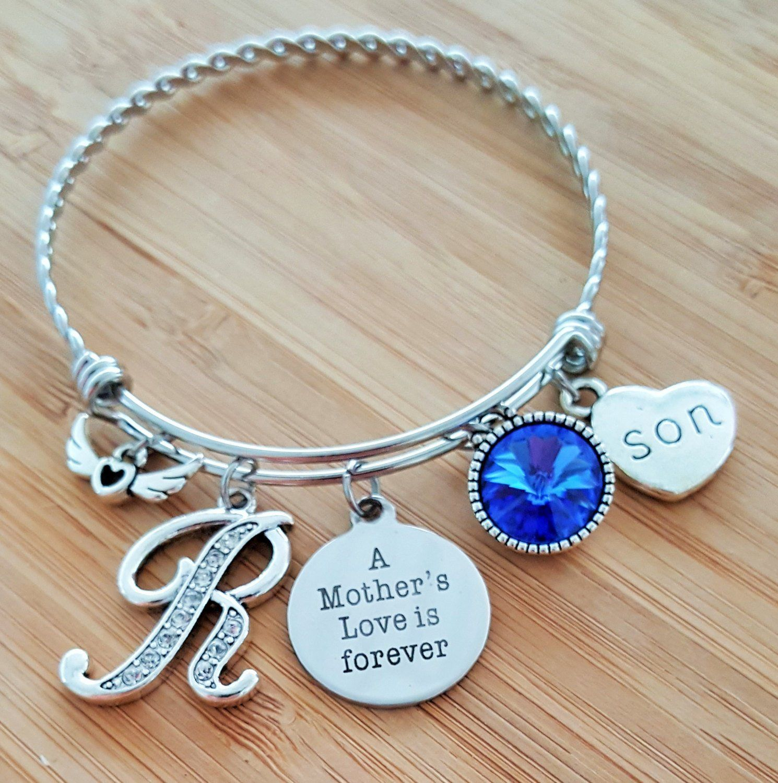 Loved One Charm Bracelet Remembering Loved 1 Crystal Angel Wings Remembrance Angel Wing Bracelet Remembrance Gift Remembrance Jewelry