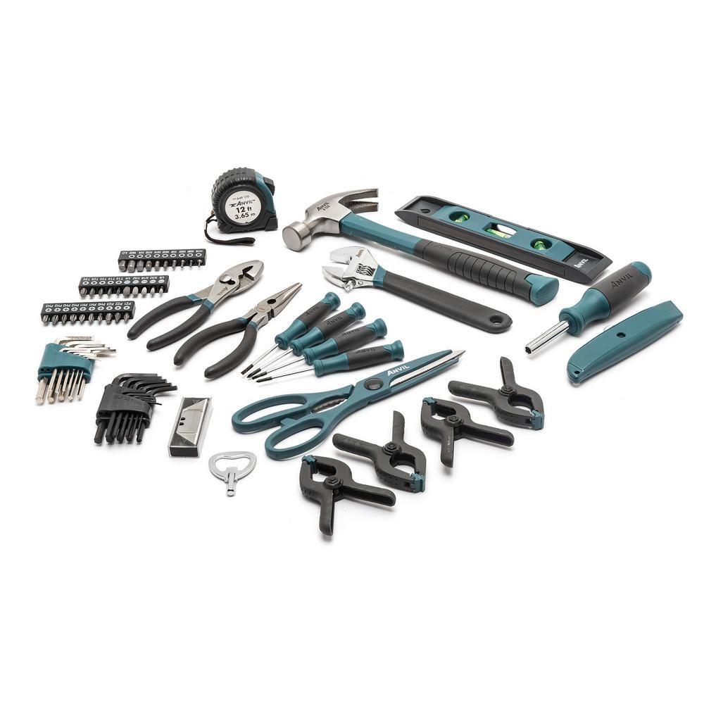 Anvil Home Tool Kit 76 Piece A76hos Tool Set Home Tools Tool Kit
