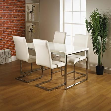 Room Alfonso Dining Table Set High Gloss
