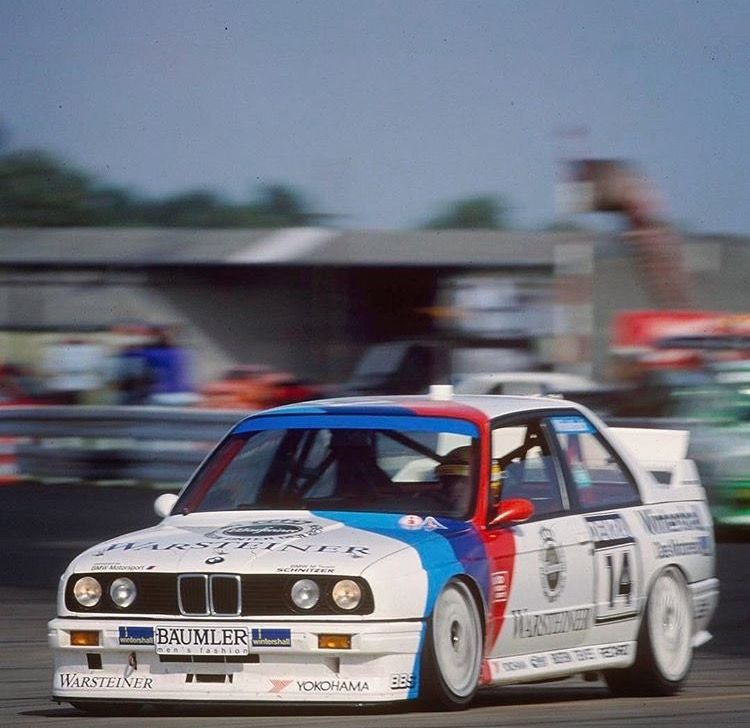 Warsteiner Bmw M3 Dtm Race Car With Images Bmw E30 Bmw M3