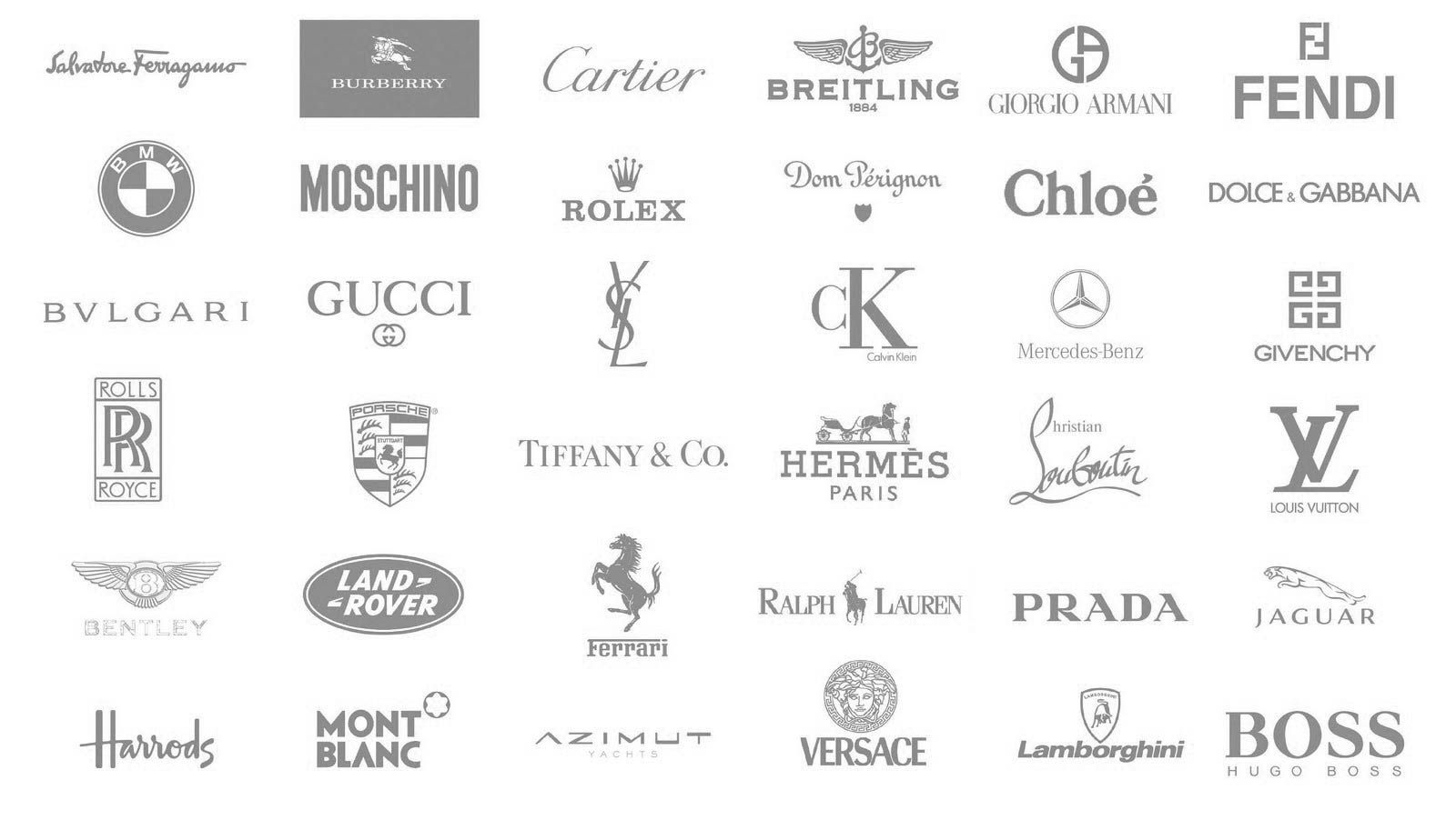 51f456fc0 Collection of luxury brand logos. Top Luxury Brand Watches   Luxurywatches   Brand  Men  Women  Fashion