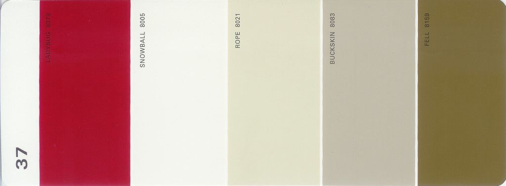 Martha Stewart Paint 5 Color Palette Card 37 Available From S