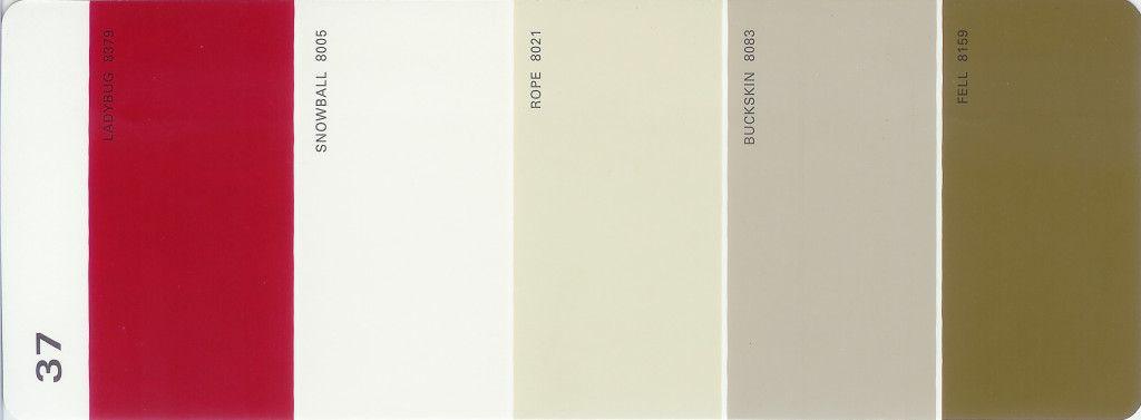 . Martha Stewart Paint 5 Color Palette Card  37   TheLandofColor com