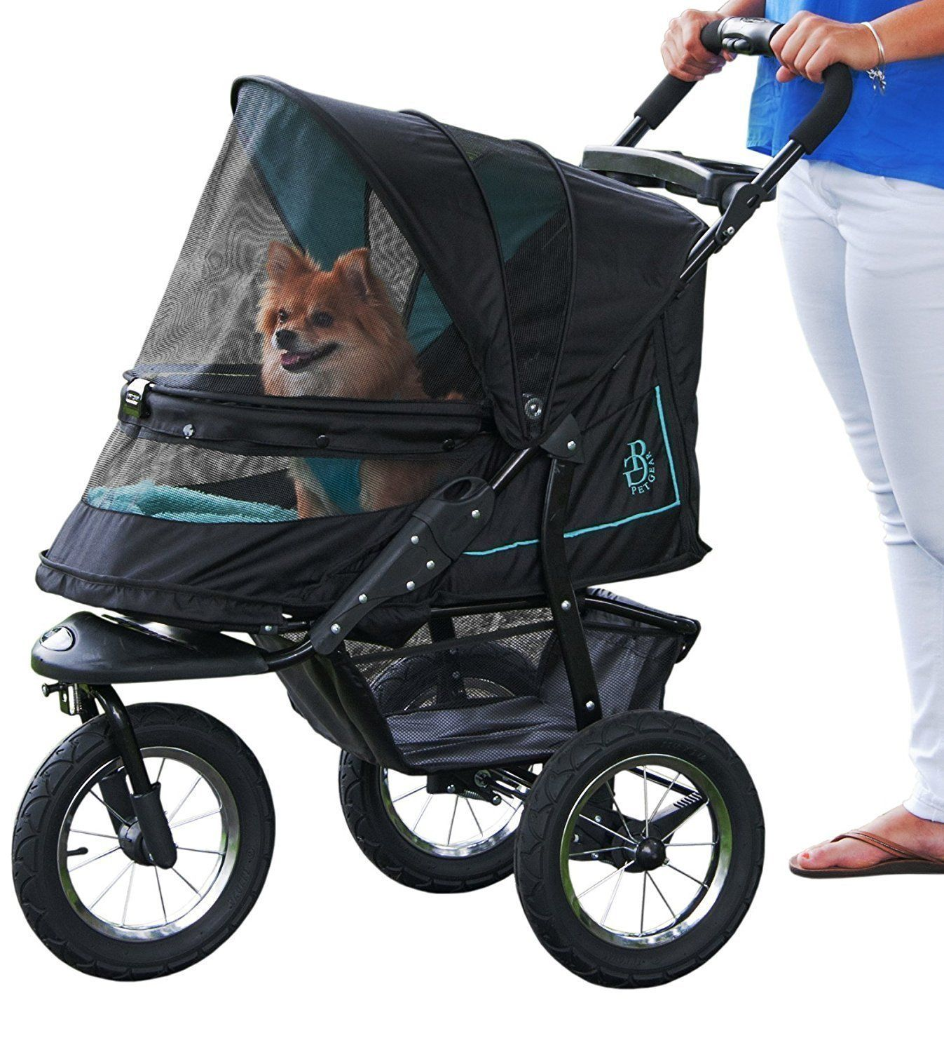 Rose NV NOZIP Pet Stroller For Pets Up To 70 lbs