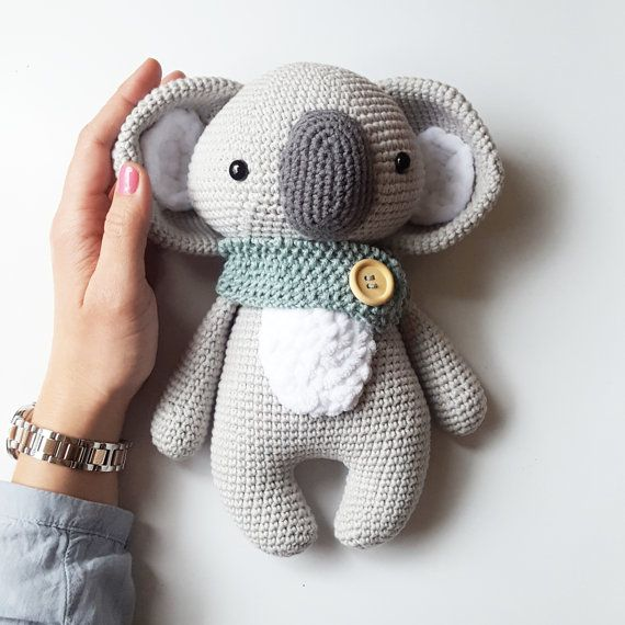 Amigurumi Häkel Anleitung  Koala Pepe (German+English+Spanish+Dutch) PDF #spanishdolls
