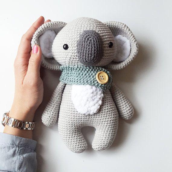 Amigurumi Häkel Anleitung Koala Pepe | amigurumi | Pinterest ...