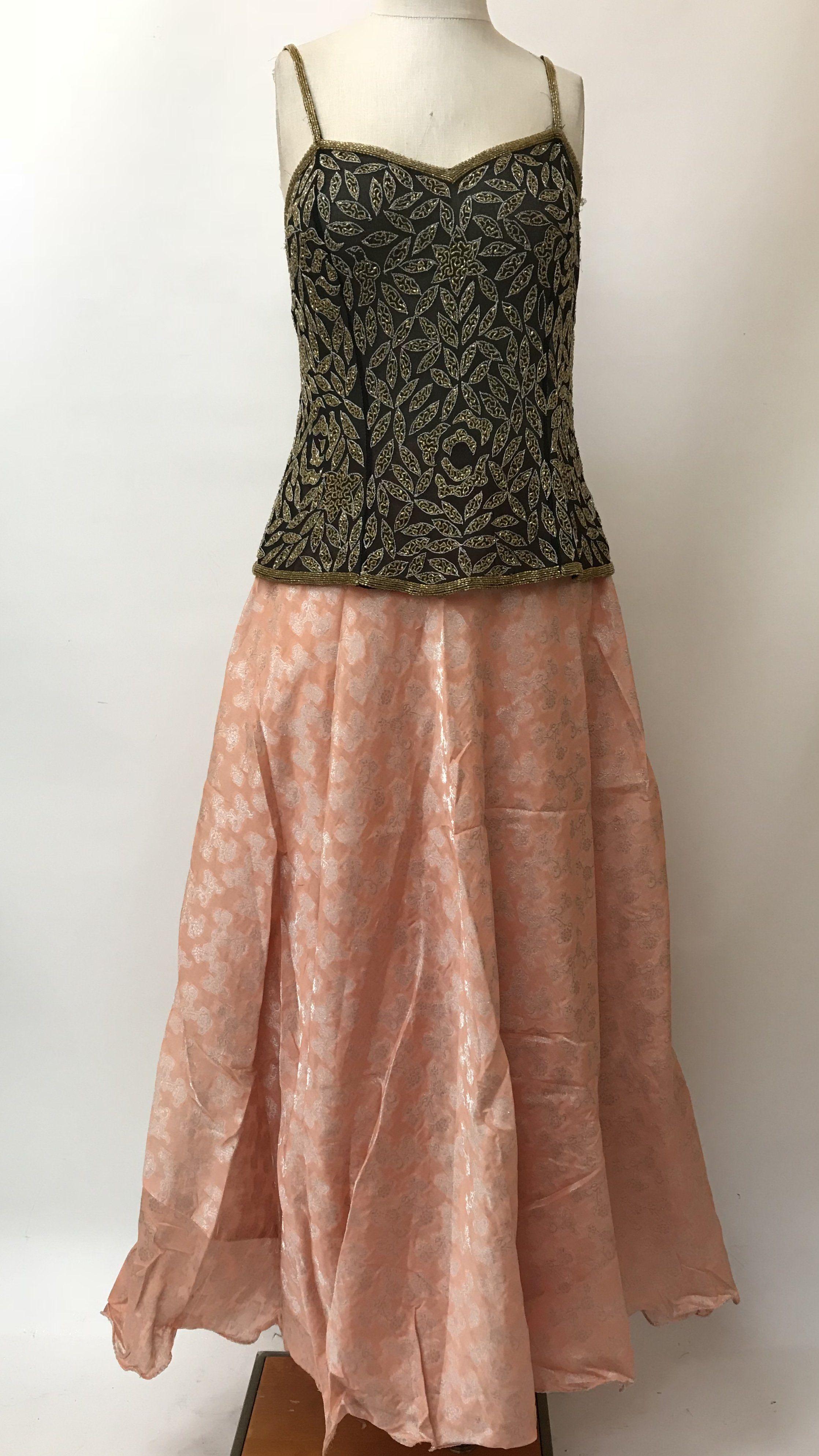 495feb36b Silk Brocade Skirt | Products | Silk brocade, Skirts, Formal dresses