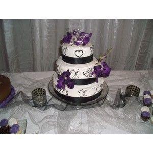 purple black and white wedding google search