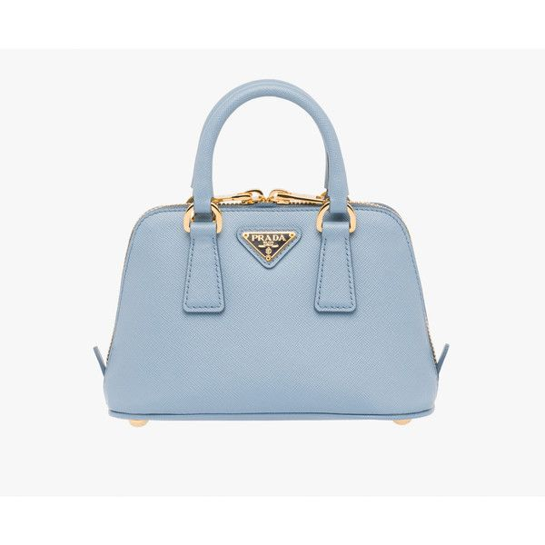 PRADA Small Bag (€1.110) ❤ liked on Polyvore featuring bags ... 46120db29093f