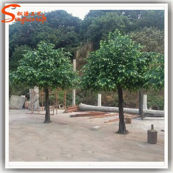 artificial green banyan trees ficus tree
