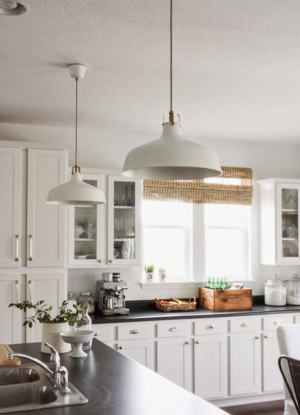 Great Ways For Lighting A Kitchen: Ways To Incorporate Ikea Ranarp Lamp Into Home Decor