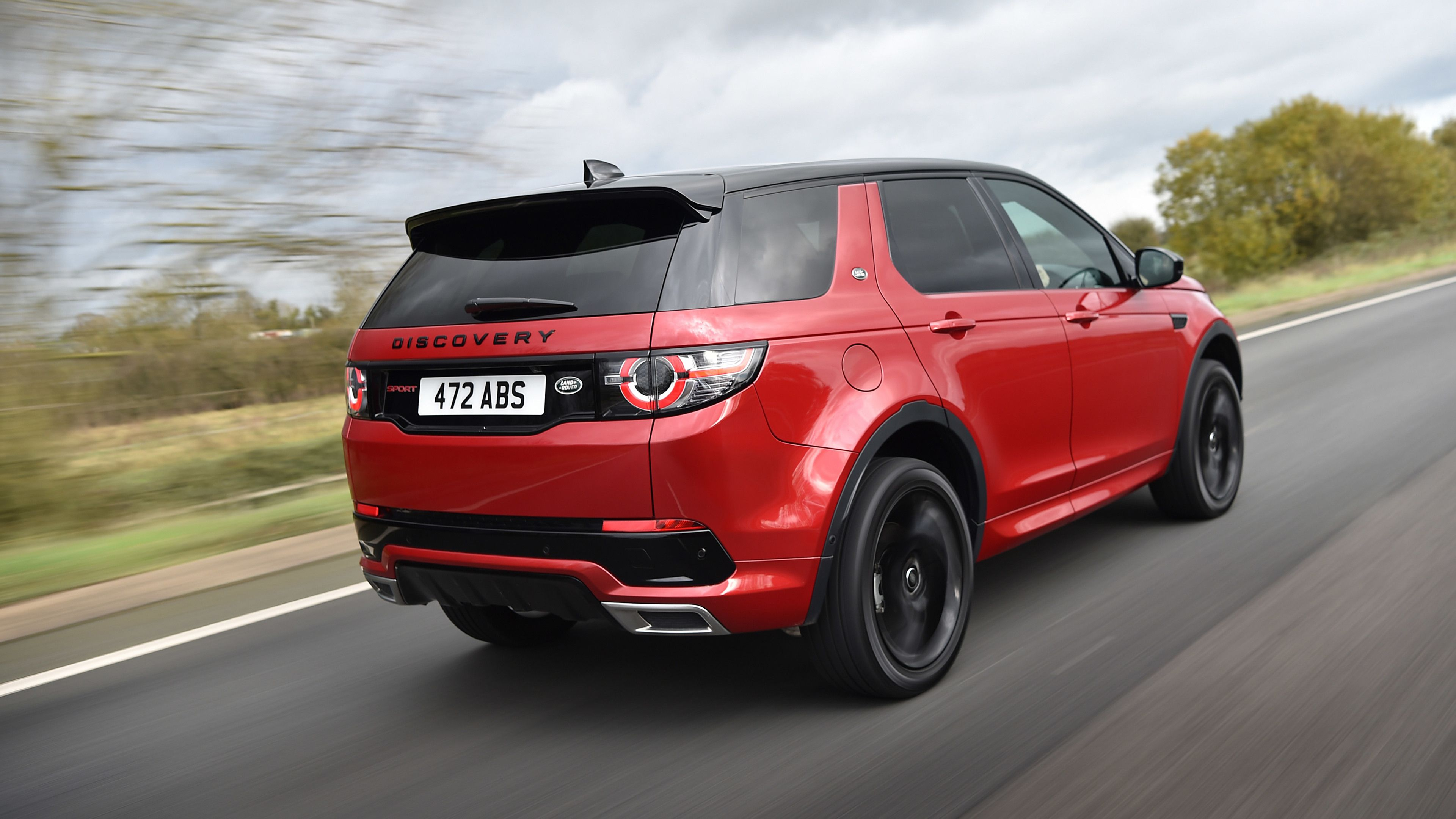 Wallpaper 4k Land Rover Discovery Sport Hse Si4 Dynamic Lux Rear