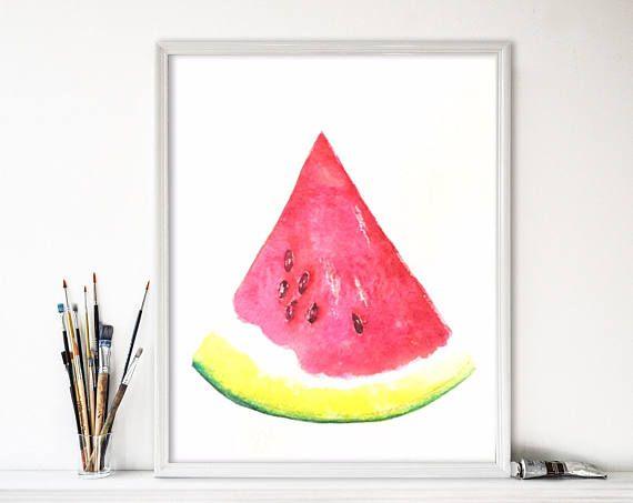 Watermeloen schilderij-watermelon painting-zen