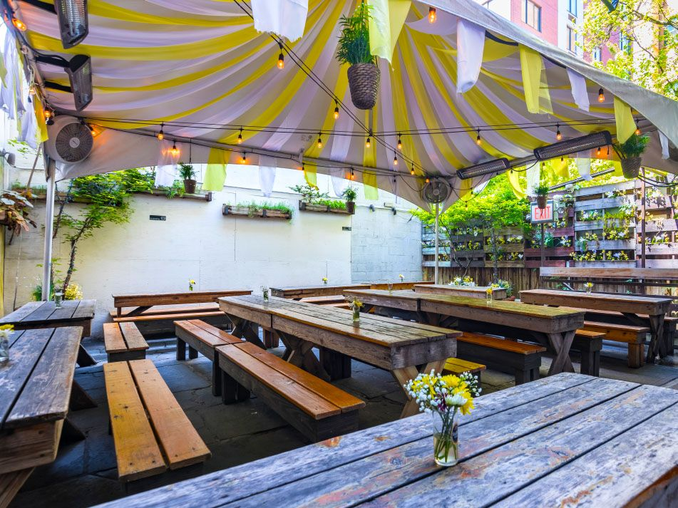 Loreley Beer Garden Nyc Heated Outdoor Beer Garden Party Room