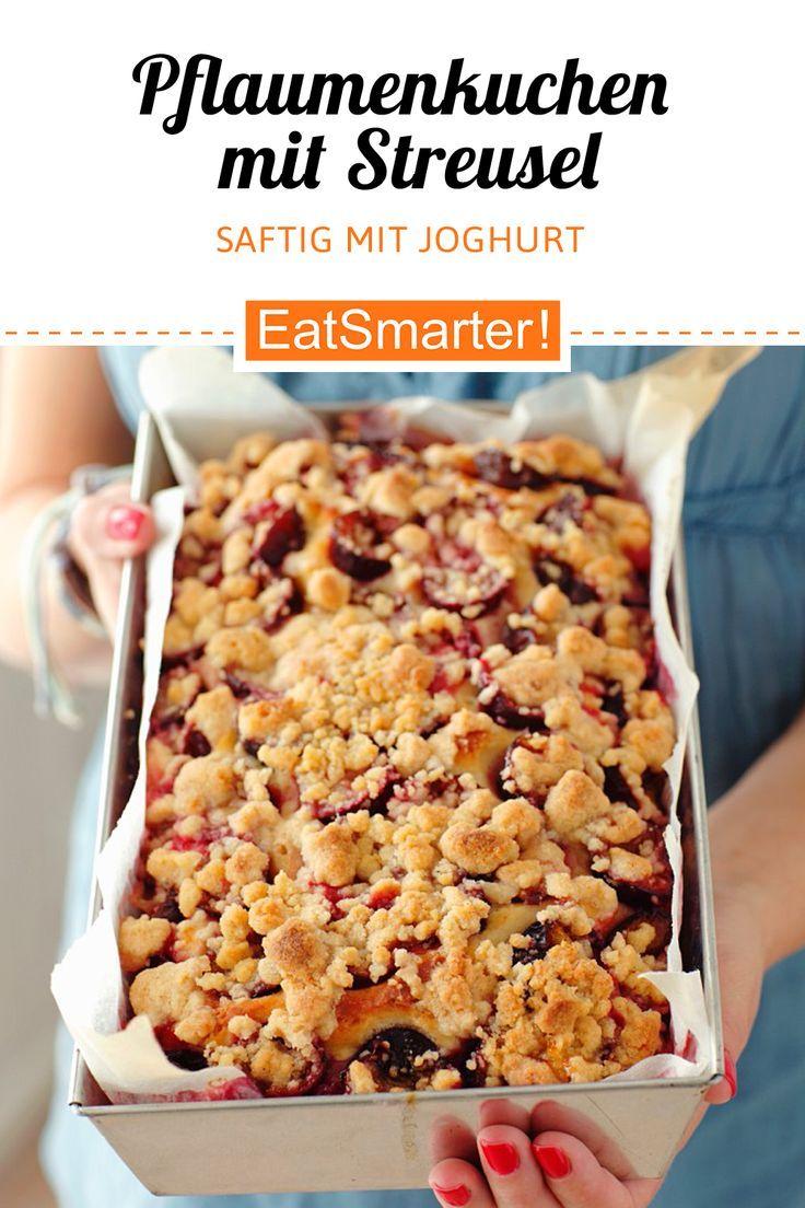 Pflaumenkuchen mit Streusel - schlauer - Zeit: 30 min. |  ...   - Zwetschgenkuchen + Pflaumenkuchen Rezepte -