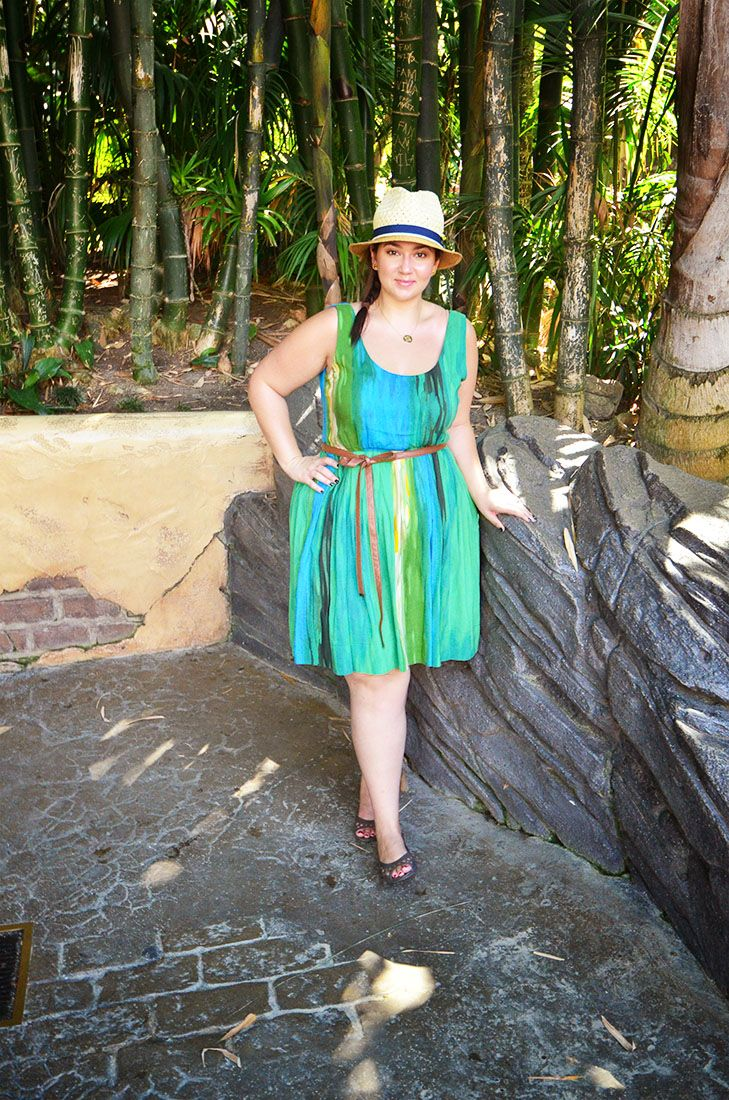 e154058d2e62 crystal coons plus size blogger disneyland ootd what to wear to disneyland