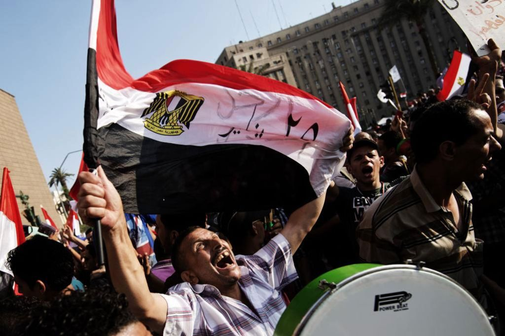 Protestas en Egipto.