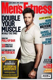 """"""" Jude is Jude Law """" Of N-L-C: 2 New Men's Fitness Magazine covers for September 2013 - Hugh Jackman"""