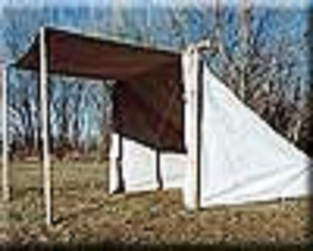 Canvas Mountain Man / Civil War Baker Tent 9FTx9FTx2FT & Canvas Mountain Man / Civil War Baker Tent 9FTx9FTx2FT | Mountain ...