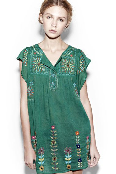 antik batik -- @Susan Seward and @Sepi Alavi  -- inspiration for embroidering our dyed muslin shifts :)