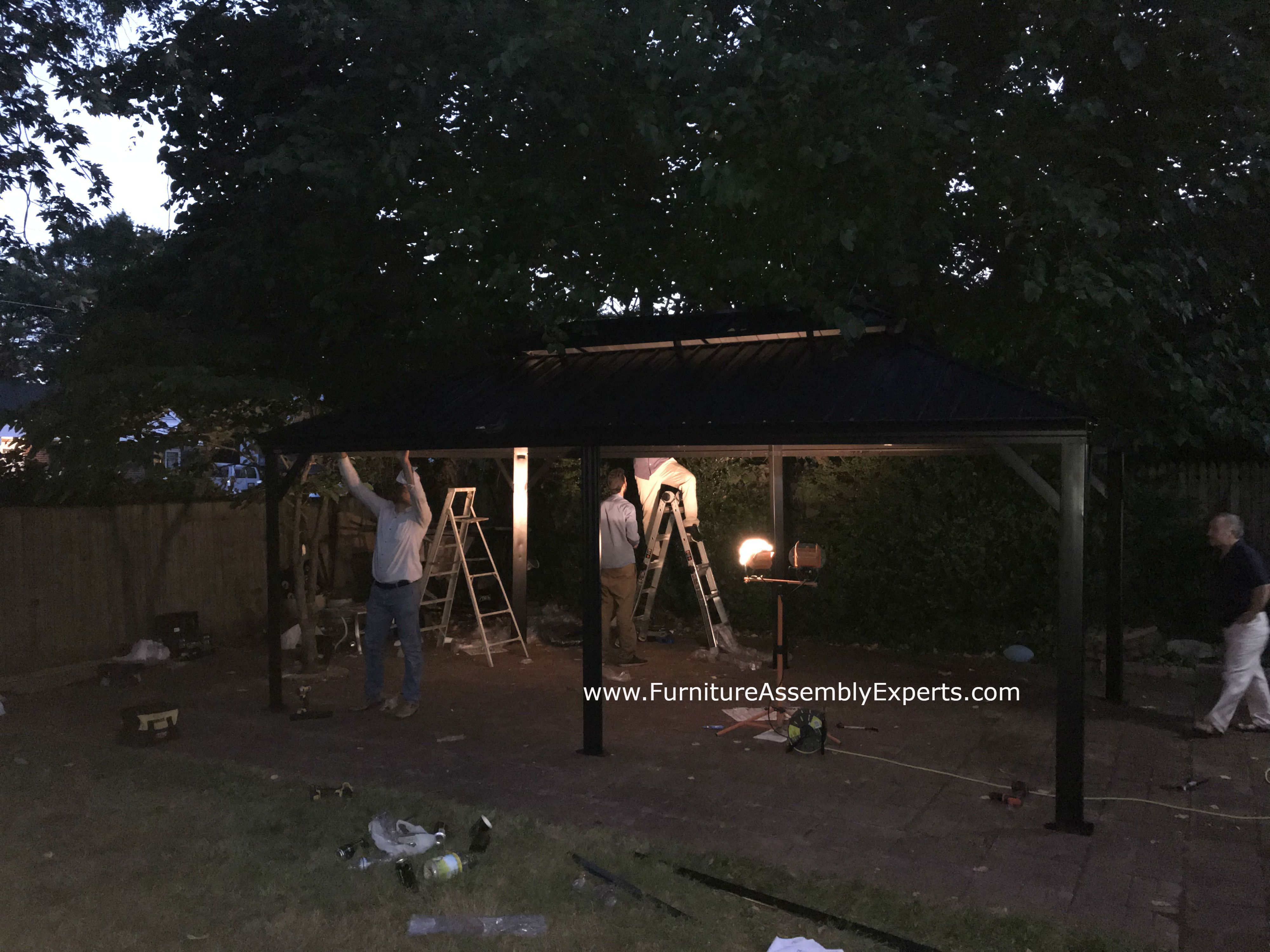 Walmart Sojag Gazebo Moving And Installation Completed For