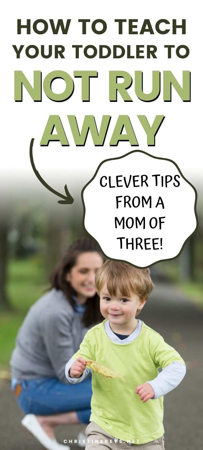 Photo of How to teach your toddler to not run away – from a mom of three. Find out the be…