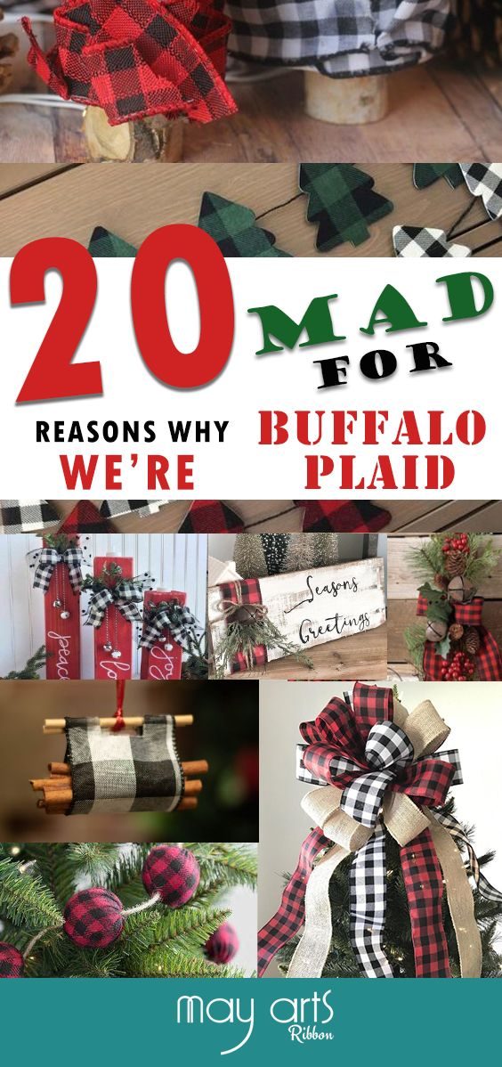 20 Buffalo Plaid Decor Ideas