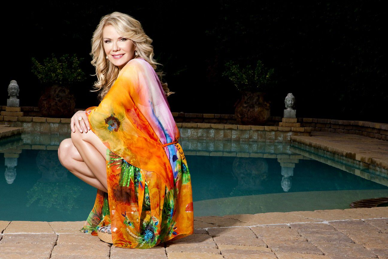 Katherine kelly lang medium length bob hairstyle styles weekly - Katherine Kelly Lang S 2015 Kaftan Range Is Out Now Http Katherinekellylangkaftans Com