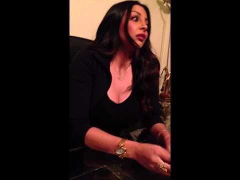 """بالفيديو .. شقيقة هيفاء وهبي تروي تفاصيل """"تعدي"""" ضابط عليها"""
