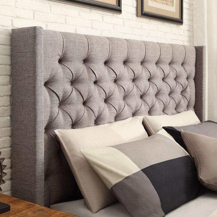 Three Posts Crawley Upholstered Platform Bed & Reviews | Birch Lane ...