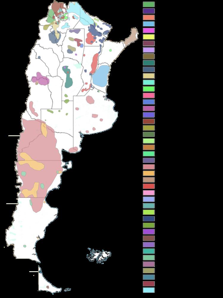 Mapa de pueblos originarios - Cartografía elaborada en la Dirección ...