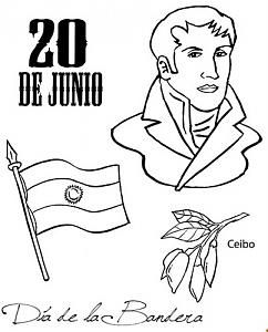 Manuel Belgrano Para Colorear Imagenes Para Colorear Día De La