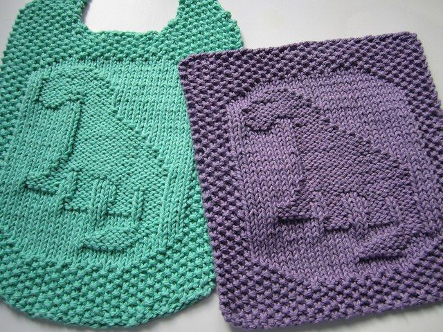 Dishcloth And Washcloth Knitting Patterns Knitwit Dishcloths